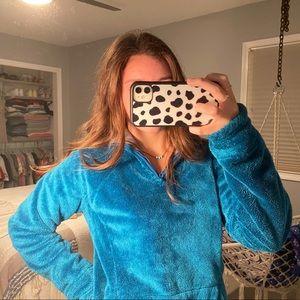 North Face Osito half-zip pullover